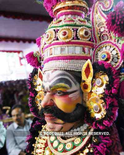 Performance: Yakshagana