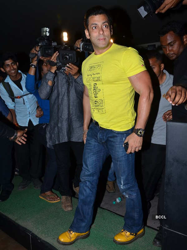 Salman Khan @ special screening of Yellow