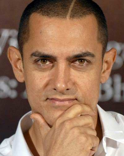 Aamir at book launch