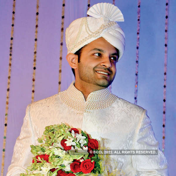 Aamir Aijaz During His Nikah With Sana Nabi, Held In Lucknow