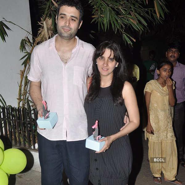Imran and Avantika's baby shower