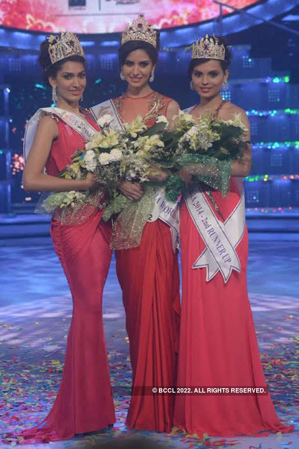 These throwback pictures of Femina Miss India 2014 will take you to the good old days