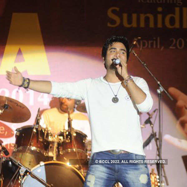 Sunidhi at voter awareness event