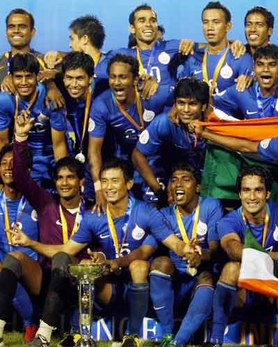 India wins AFC Cup