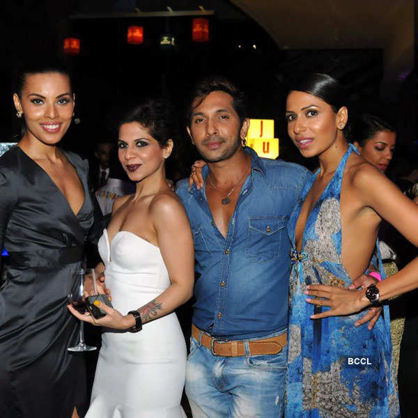 Just Cavalli's new perfume launch party
