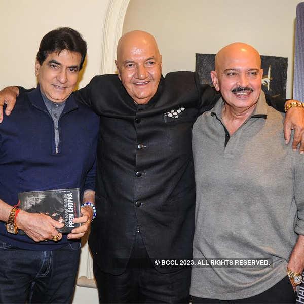 Celebs at Prem Chopra's Book launch