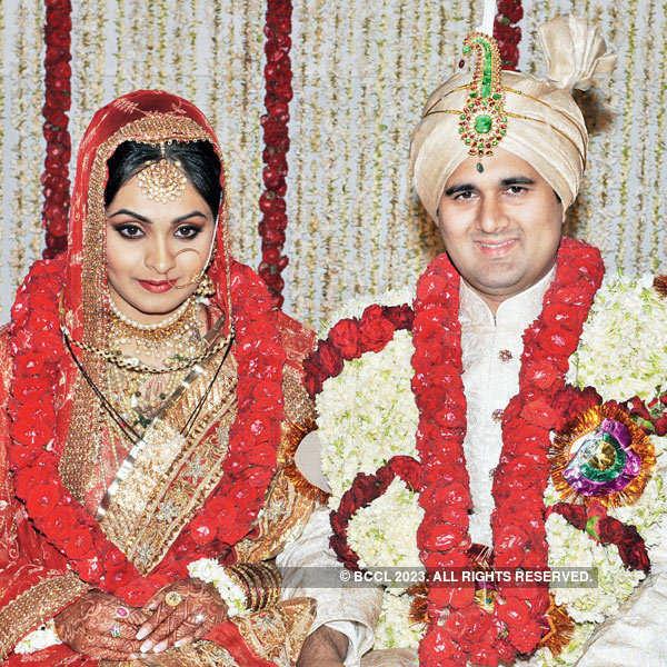 Nabila and Sanya's wedding ceremony