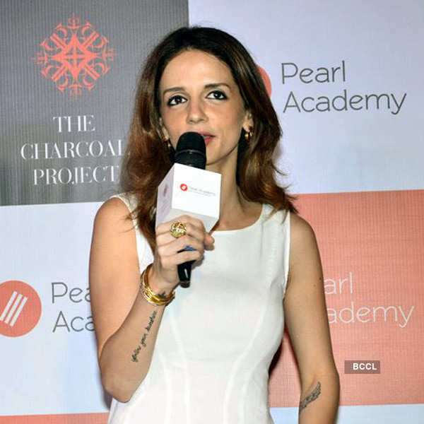 Suzanne launches Pearl Academy
