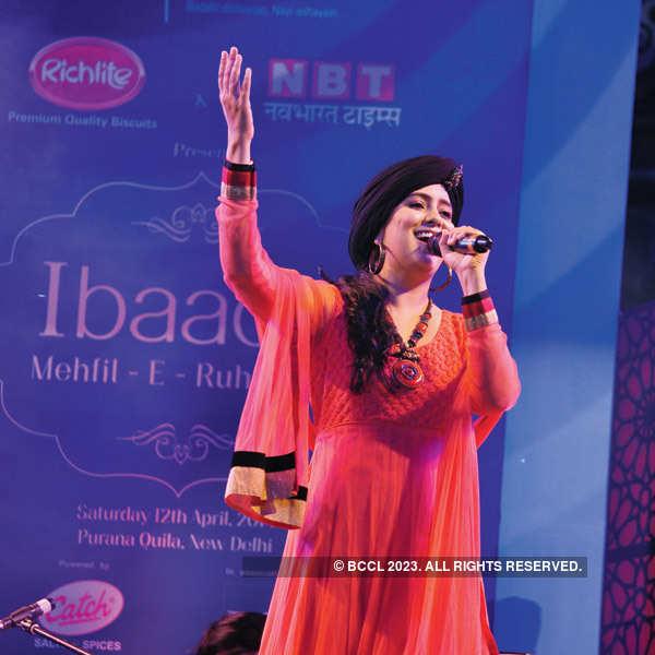 A Sufi concert in Delhi