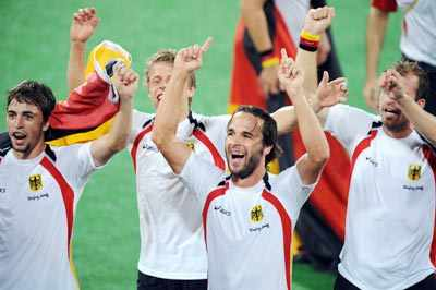 Germany win hockey gold