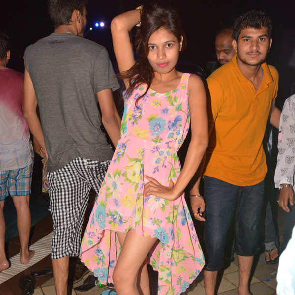 Pool party at Chokar Dhani in Nagpur