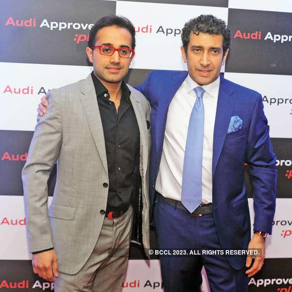 Abhishek @ Audi Gurgaon event