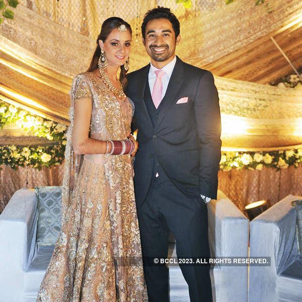 Rannvijay and Prianka's wedding reception