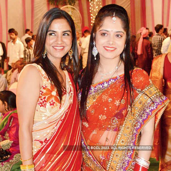 Kanishk and Juhi's wedding party