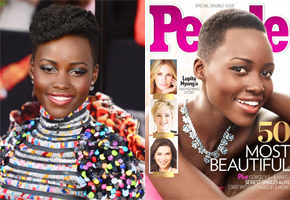 Lupita Nyong'o named People's 'most beautiful' woman