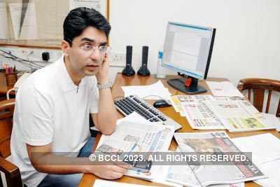 Abhinav at TOI Delhi