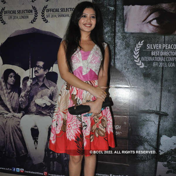 Celebs @ Apur Panchali premiere