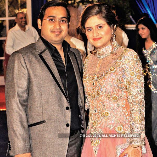 Yash, Geetika's wedding reception