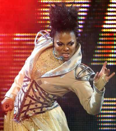 Janet in concert