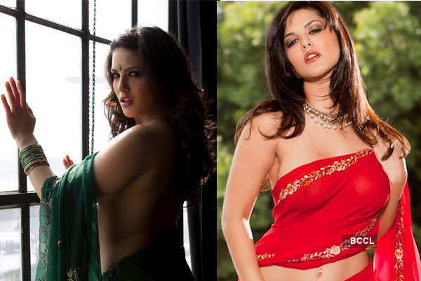 Sunny To Rekha Celebs In Revealing Sarees