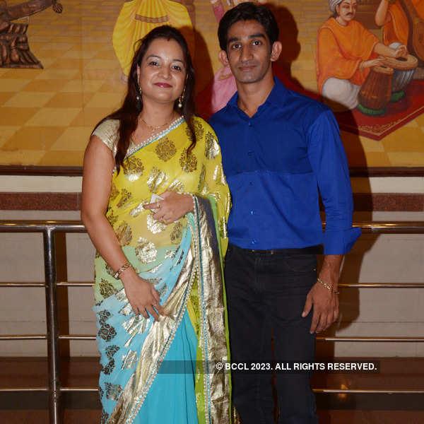 Anup and Smita perform at Nagpur