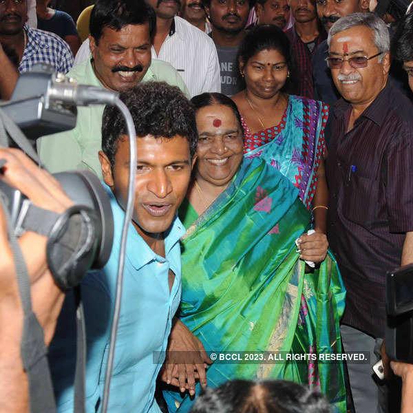 Puneeth Rajkumar at film launch