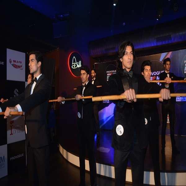 Provogue MensXP Mr India World 2014: Tuxedo round