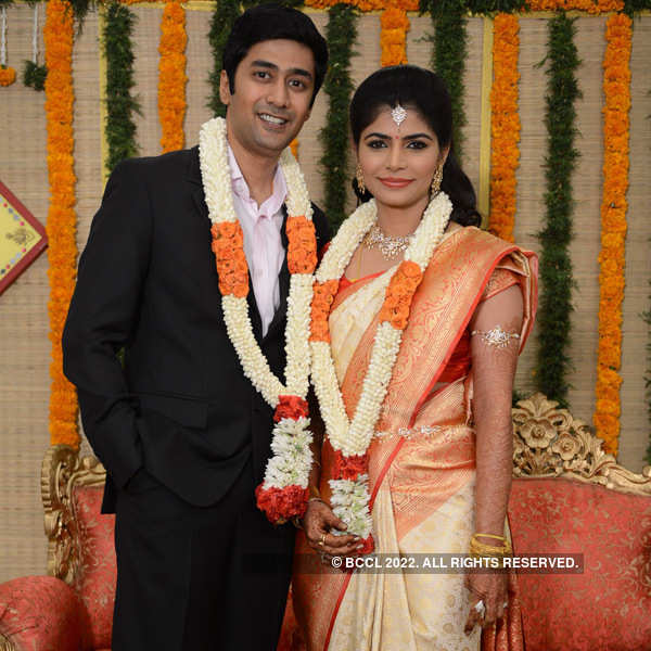 Chinmayi and Rahul's wedding reception