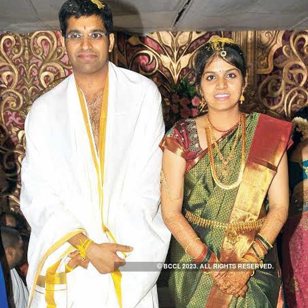 Soumya and Krishna's wedding ceremony