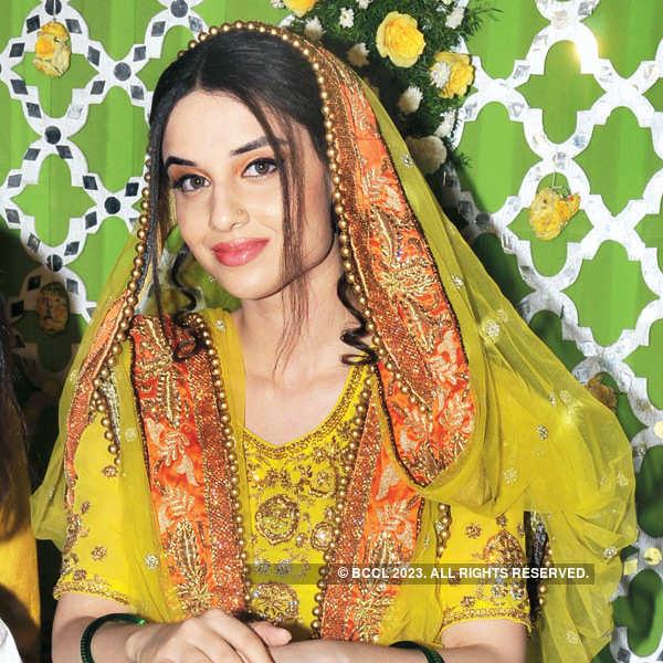 Md Wajid Khaleel-Zara Afreen Ahmed's mehendi