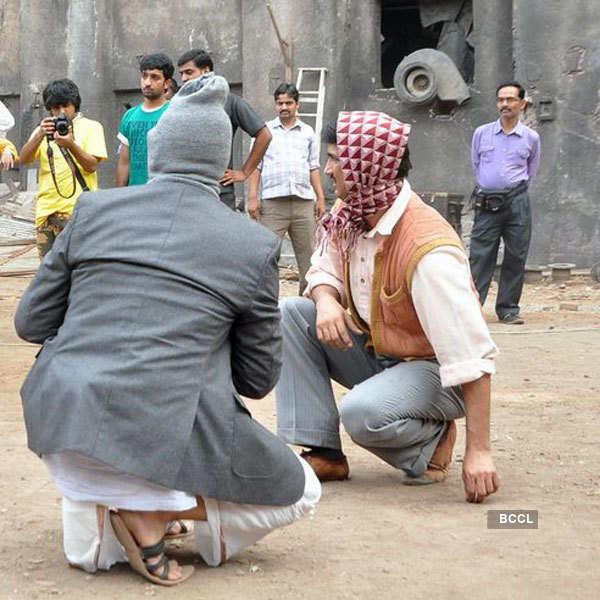 On the sets: Detective Byomkesh Bakshi