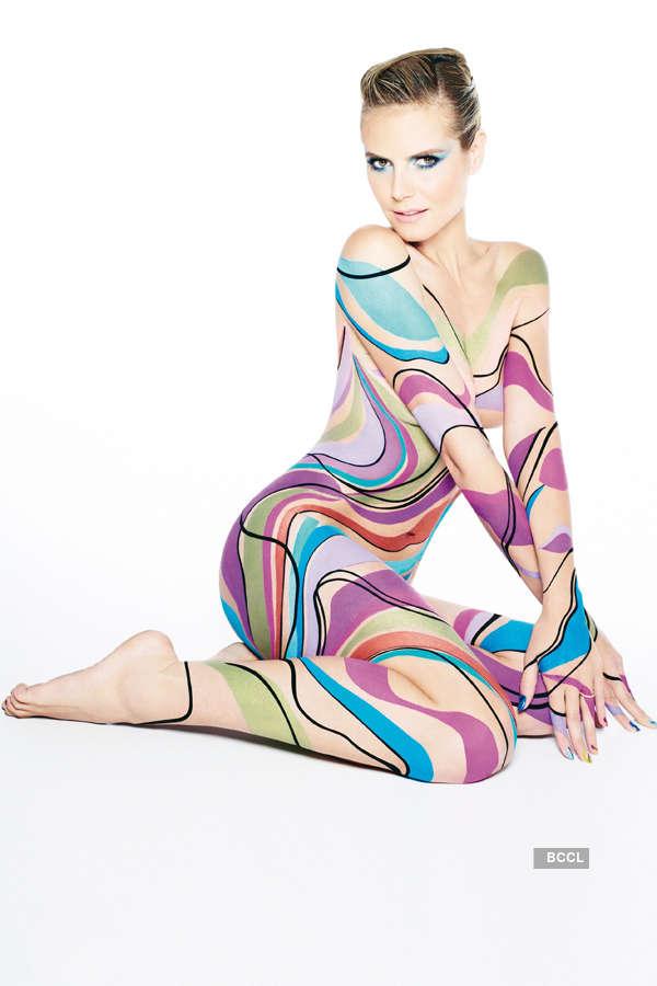 30 celebs in body paint!