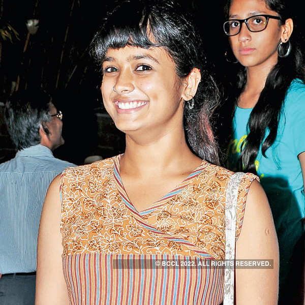 Anupama at a dance event