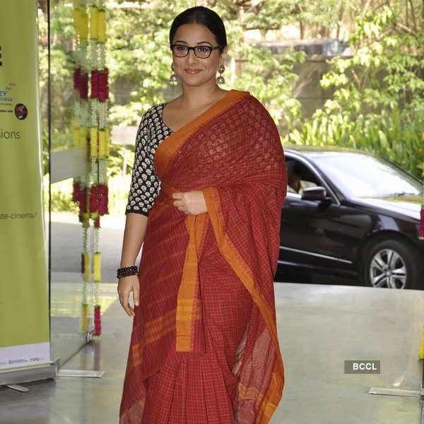 Rekha, Vidya @ Cinema Festival