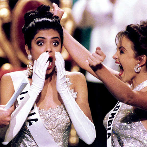 #Throwback: When Sushmita Sen was crowned Miss Universe 1994