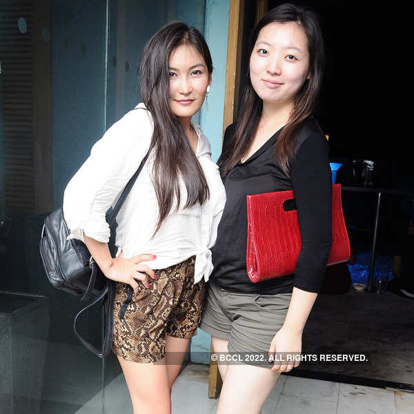 Get-together party at Leather Bar