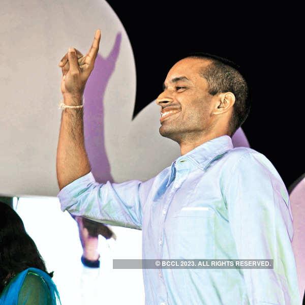 Saina Nehwal at Badminton Association's event