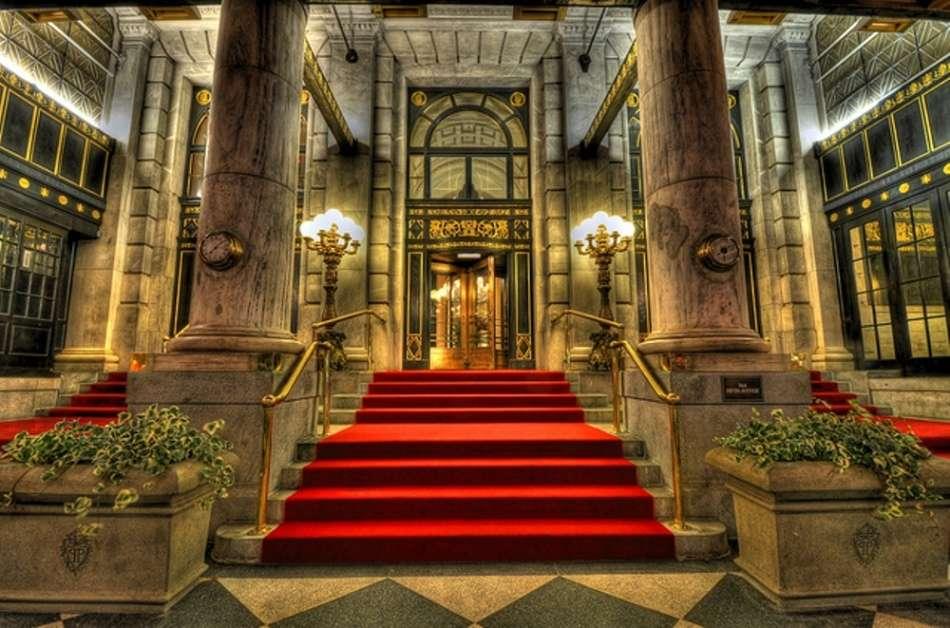 Gatsby's favourite hotel