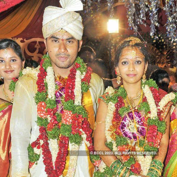 Perfect knot: Rahul Yadav weds Simanvi