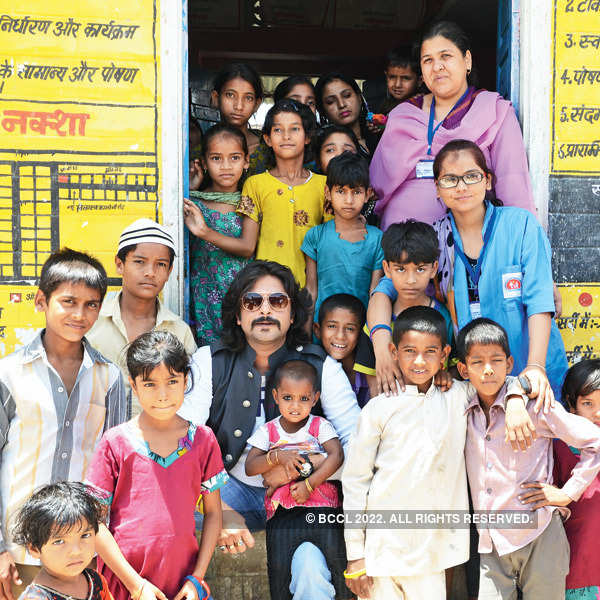 Ravindra campaigns for Save the Children
