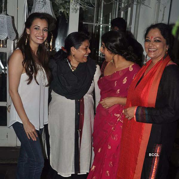 Pankaj Kapoor's birthday party