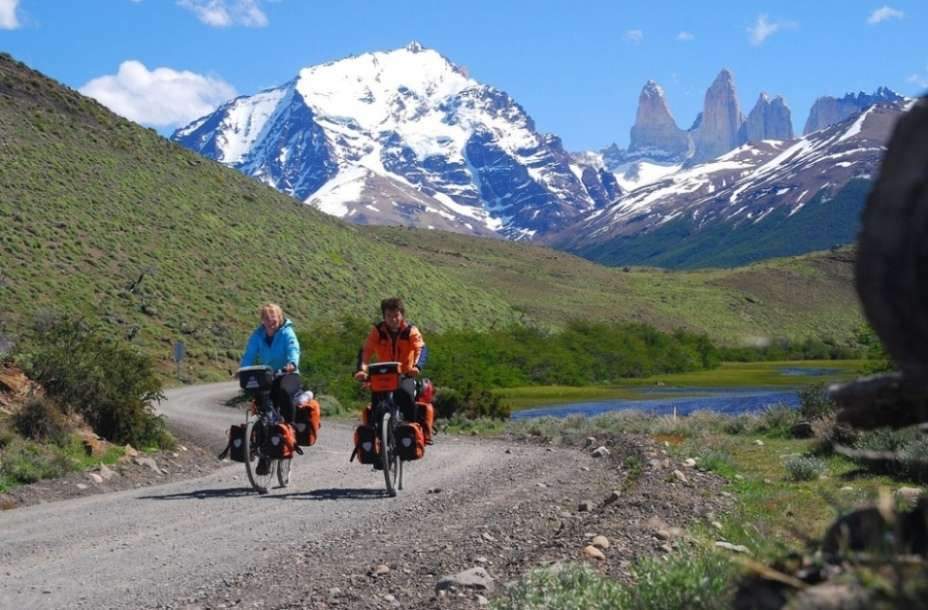 Biking in Patagonia