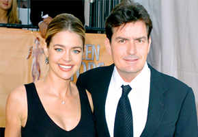 Charlie Sheen kicks out Denise Richards from his house