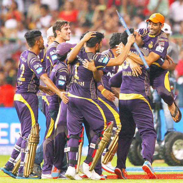 KKR clinches second IPL trophy