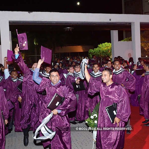 Shanti Business School's convocation ceremony