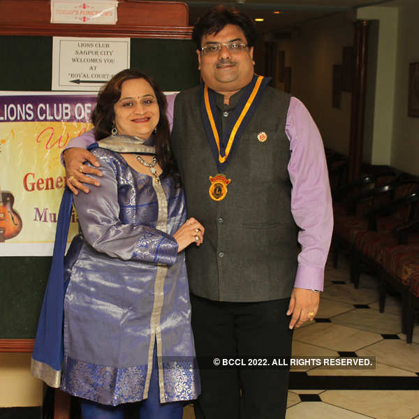 Lions Club meeting at Hotel Tuli