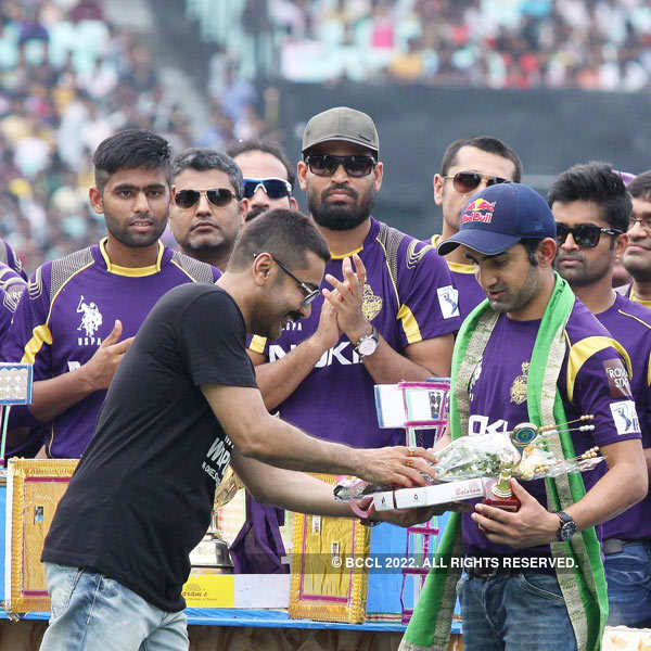 KKR's felicitation ceremony