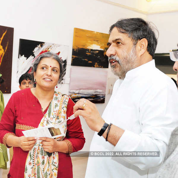 Painting exhibition @ Triveni Kala Sangam