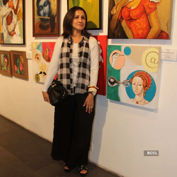 Celebs at CPAA art show
