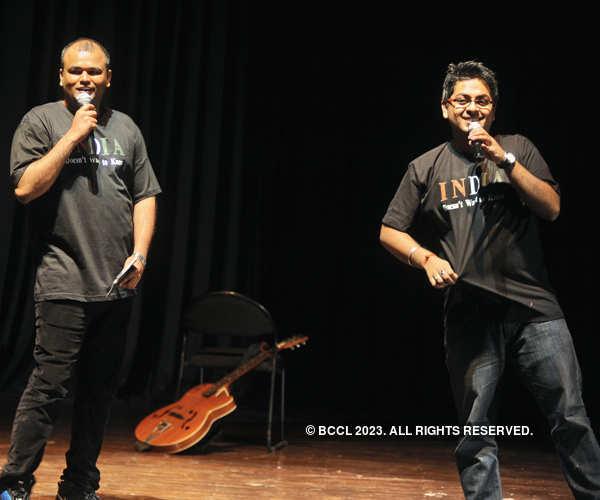 Laughter fest in Gurgaon